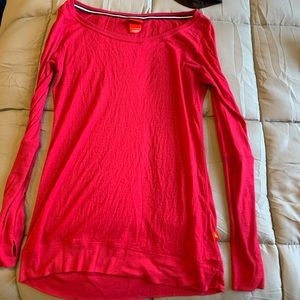 Women's NIKE long sleeve tee size L , red